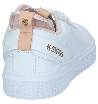 K-Swiss Baskets basses  (Rose), Blanc, pdp