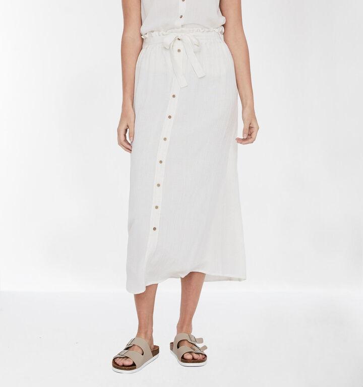 Vero Moda Jupe longue en Blanc