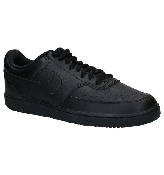 Nike Court Vision Zwarte Sneakers