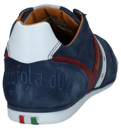 Pantofola d'Oro Chaussures basses en Bleu foncé en daim (240863)