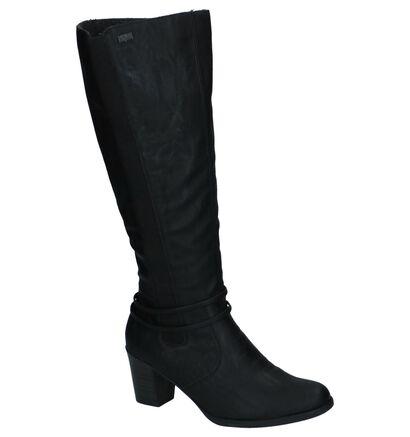 Rieker Bottes hautes en Noir en simili cuir (232025)