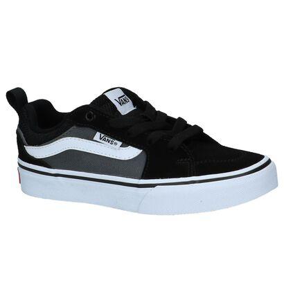 Zwarte Lage Skateschoenen Vans Filmore in stof (222627)