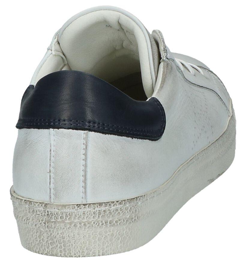 Lage Sneakers Borgo Sport Wit in leer (209762)