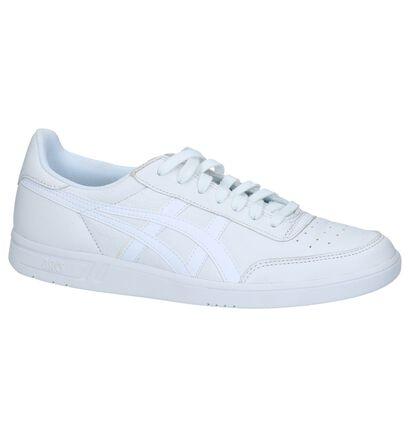 Asics Baskets basses en Blanc en cuir (238184)