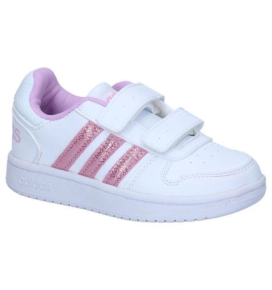 adidas Hoops Witte Sneakers