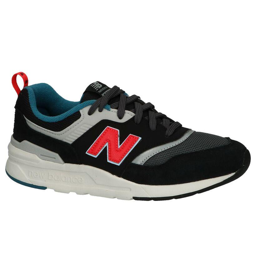 New Balance 997 Baskets basses en Noir en textile (239859)