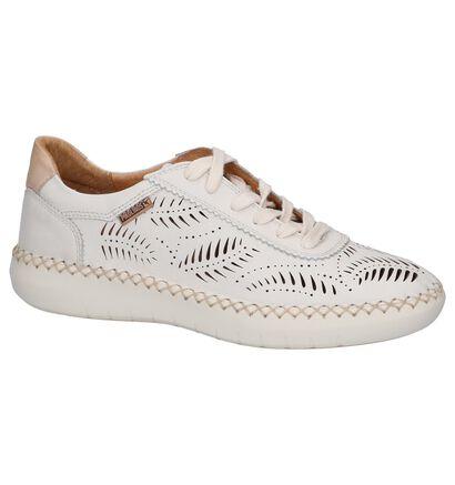 Pikolinos Chaussures à lacets en Beige clair en cuir (256424)