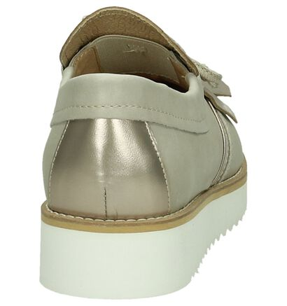 Tine's Chaussures slip-on en Écru en cuir (192351)