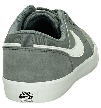 Ecru Skateschoen Nike SB Portmore, Grijs, pdp