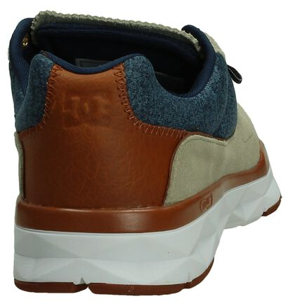 DC Shoes Player Zwarte Sneakers, Beige, pdp