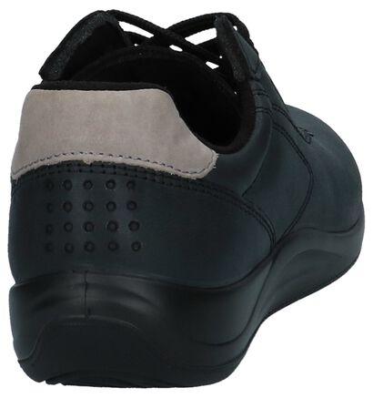 tbs Chaussures à lacets en Noir en cuir (236054)