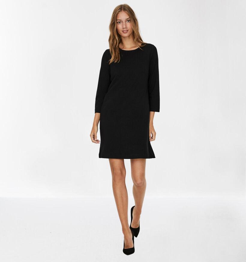 Vero Moda Eva Robe Mi-longue en Noir (281852)