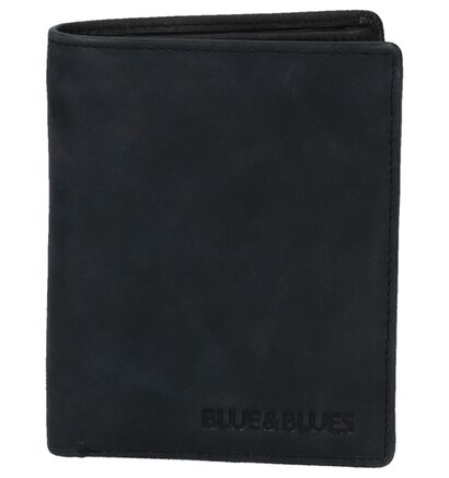 Portefeuille Euro-Leather Zwart in leer (221103)