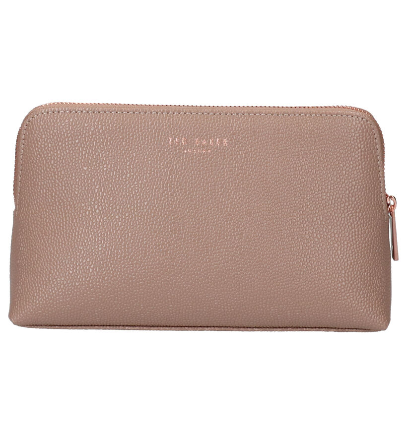 Ted Baker Elois Zwart Make-up tasje in leer (251710)