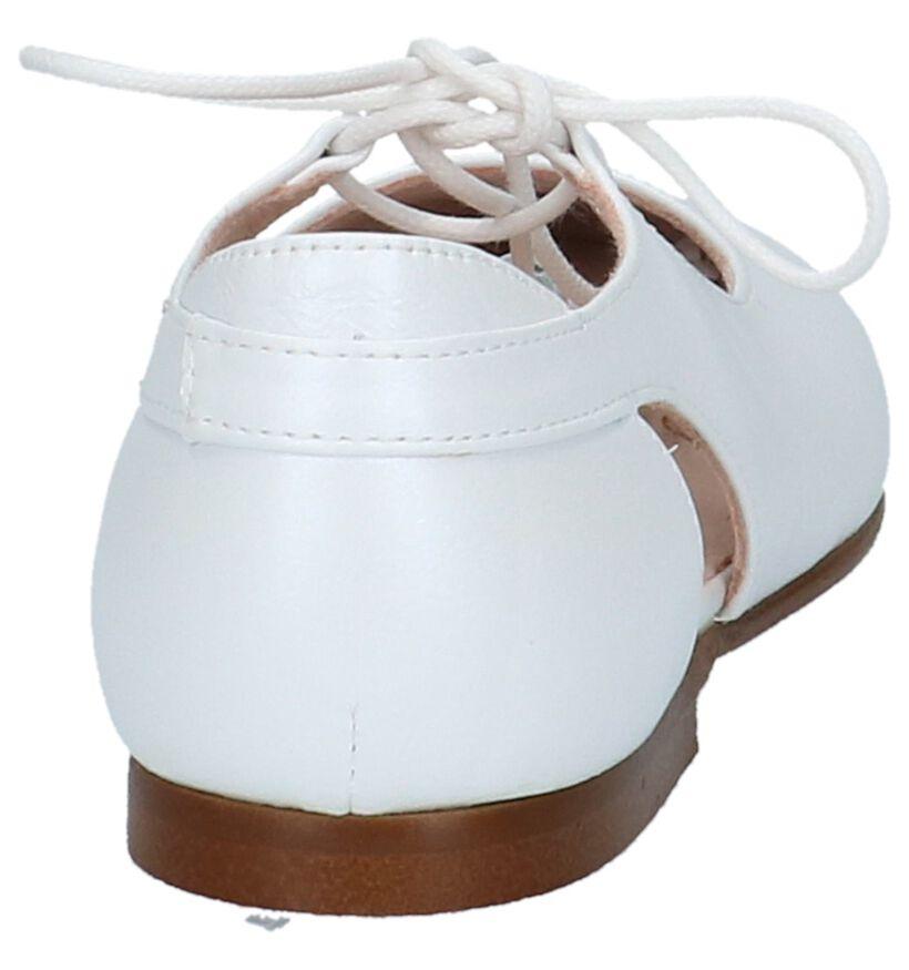 Beberlis Ballerines en Blanc en cuir (215985)