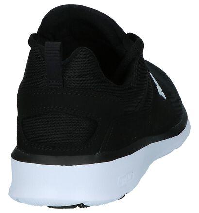 DC Shoes Baskets basses en Noir en textile (240917)