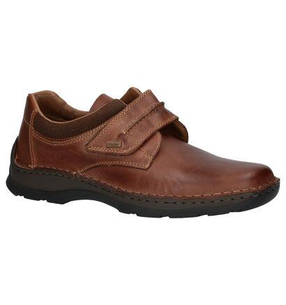 Rieker Chaussures slip-on en Marron en cuir (260550)