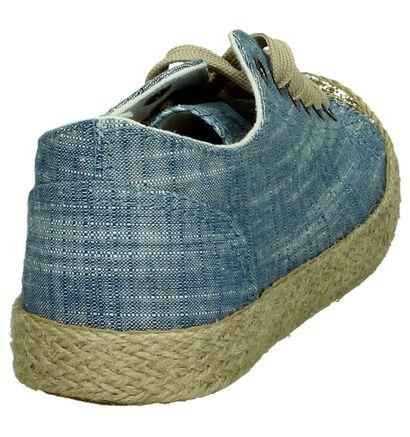 Ghost Rockers Chaussures basses en Bleu en textile (195805)