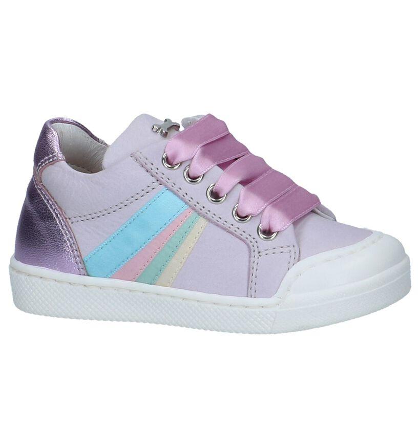 STONES and BONES Chaussures pour bébé  en Violet clair en cuir (240717)
