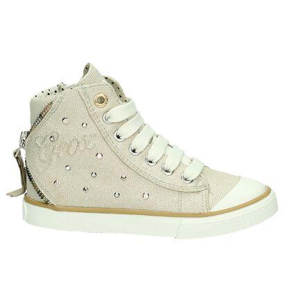 Hoge Sneakers Blauw Geox, Beige, pdp