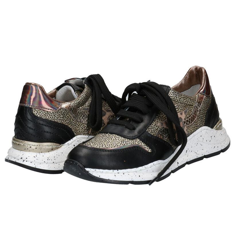 Ciao Bimbi Zwarte Sneakers in leer (281912)