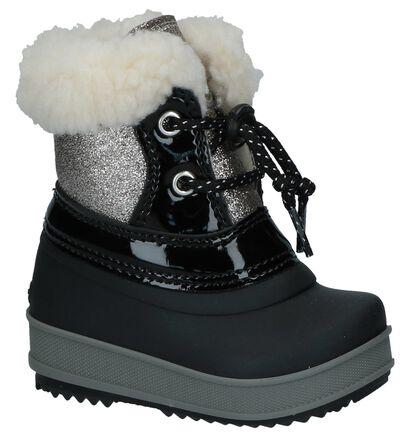 Zwart/Zilveren Olang Ol Ape Lux Snowboots in kunstleer (230912)