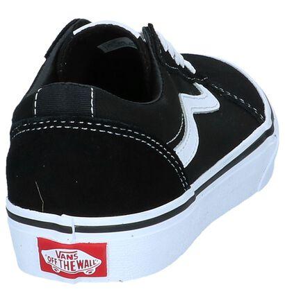 Zwarte Sneakers Vans Ward, Zwart, pdp