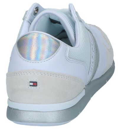 Witte Veterschoenen Tommy Hilfiger Iridescent Light in kunstleer (241736)