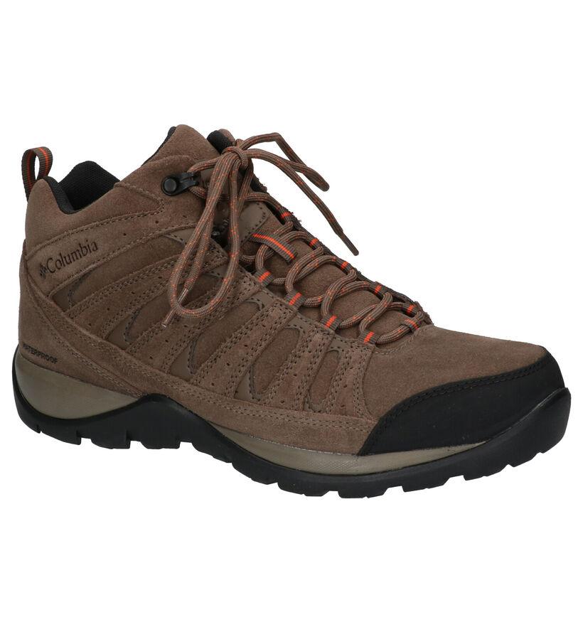 Columbia Redmond Outdry Chaussures de randonnée en Marron en daim (252841)