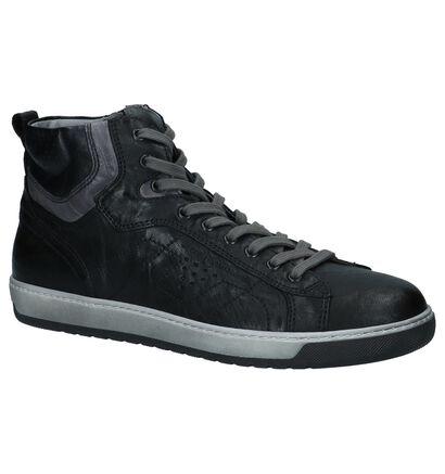 NeroGiardini Chaussures hautes en Noir en cuir (226525)