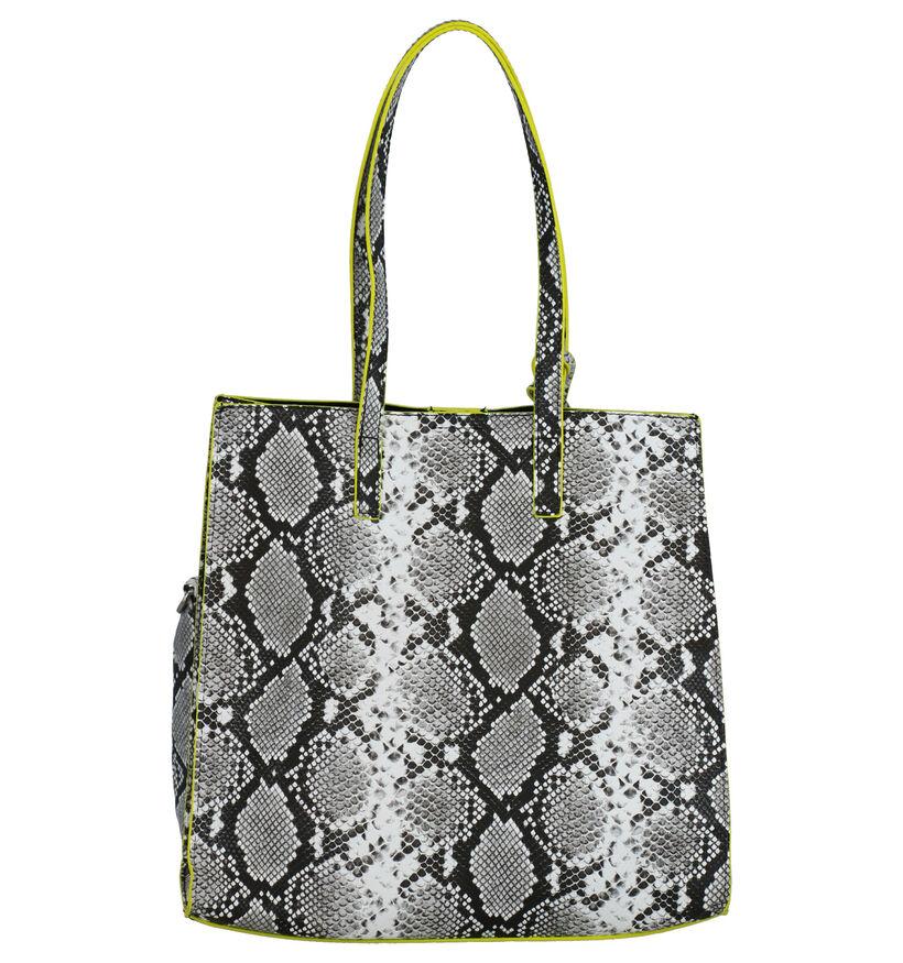 Emily & Noah Bag in Bag Cabas en Gris en simili cuir (275940)