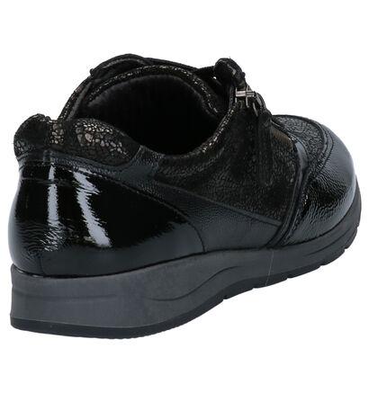 Mirel Chaussures à lacets en Bleu foncé en cuir (256435)
