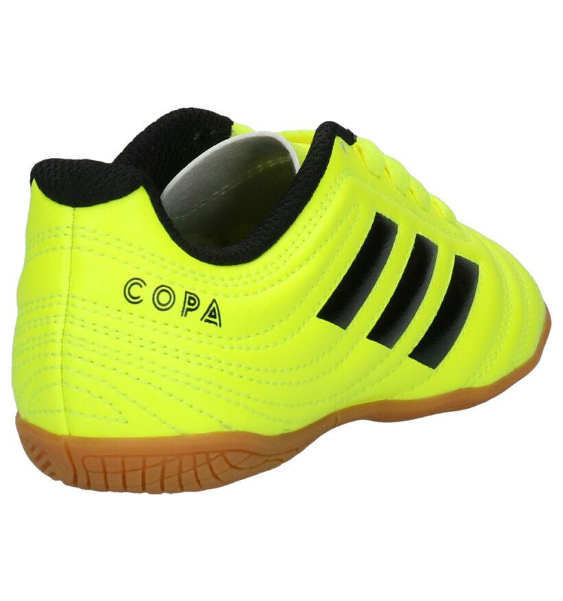 adidas Copa 19.4 Chaussures de foot en Jaune en simili cuir (252891)