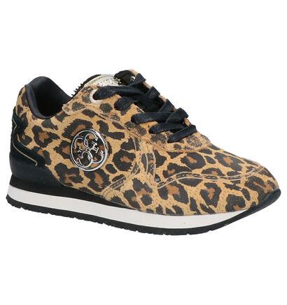 Guess Tessa Zwarte Sneakers in stof (256663)