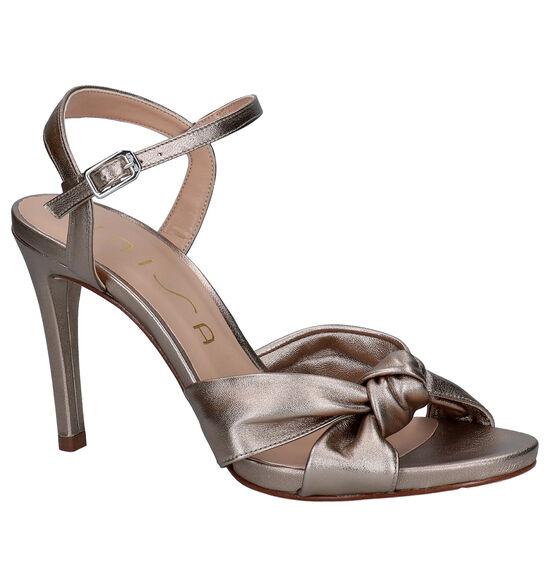 Unisa Yebo Bronzen Sandalen