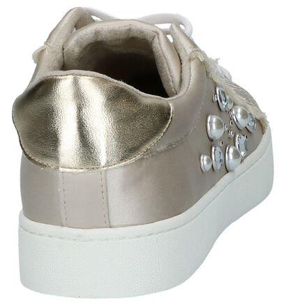 Donkerbeige Lage Geklede Sneakers Youh! , Beige, pdp