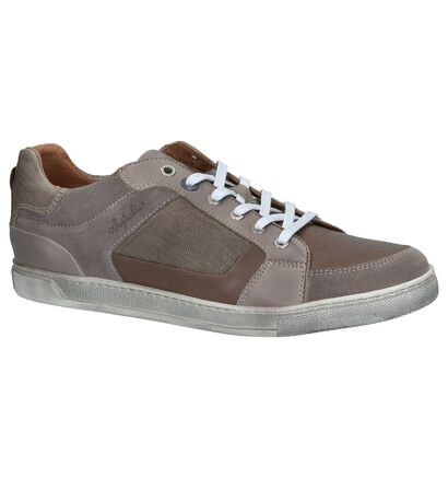 Taupe Casual Schoenen met Veters Australian Sauvage, Taupe, pdp