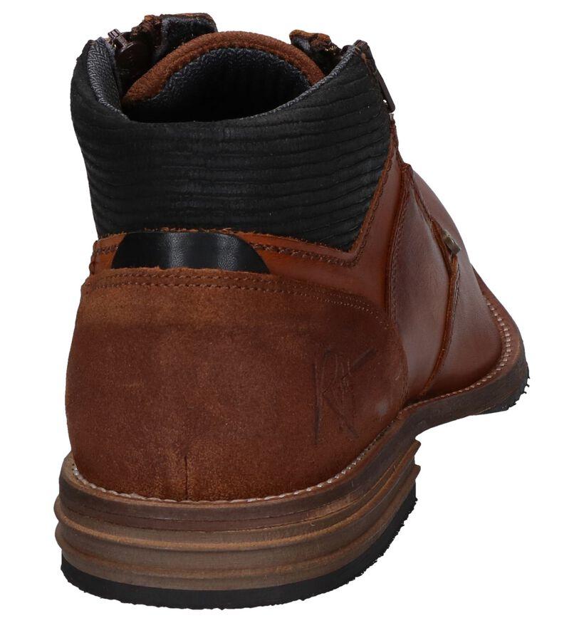 Bullboxer Chaussures hautes en Cognac en cuir (257409)