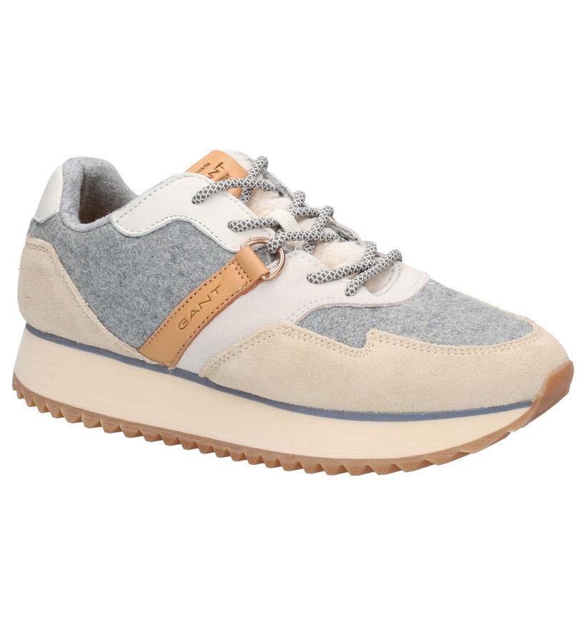 Gant Linda Taupe Sneakers in leer (261311)