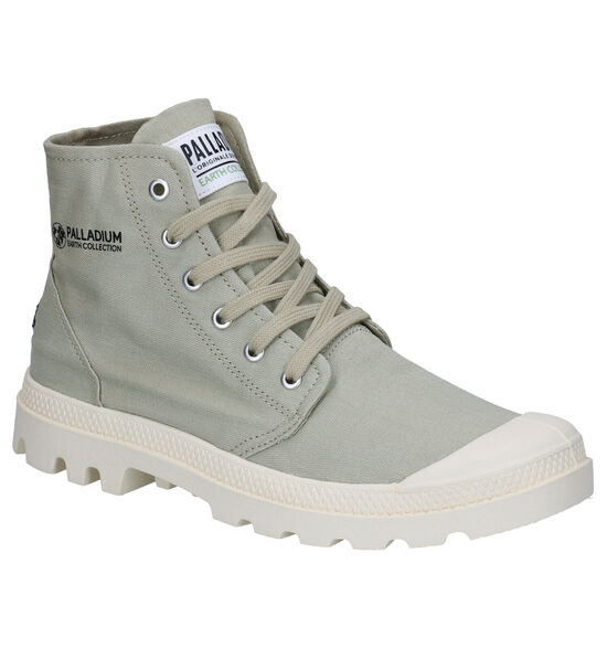 Palladium Hi Organic Kaki Boots