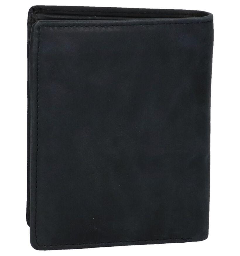 Euro-Leather Portefeuille en Noir en cuir (235788)