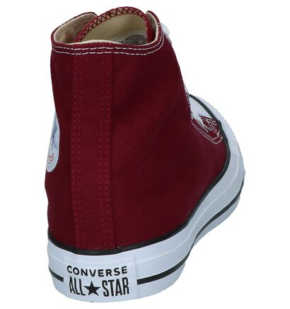 e36c5726466 Beschrijving. Zwarte Converse Chuck Taylor All Star Hi Sneakers, Bordeaux  ...