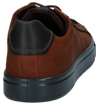 ECCO Chaussures basses en Brun foncé en nubuck (232068)