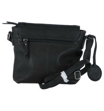 Zwarte Burkely Ranger Crossbody Tas, Zwart, pdp