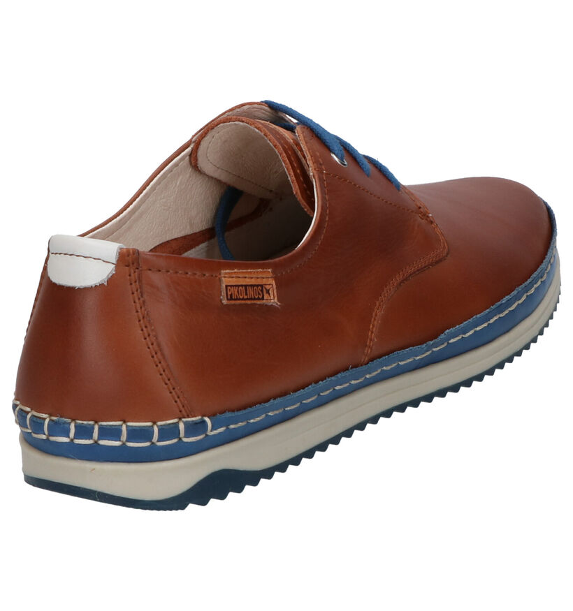 Pikolinos Chaussures basses en Cognac en cuir (272414)