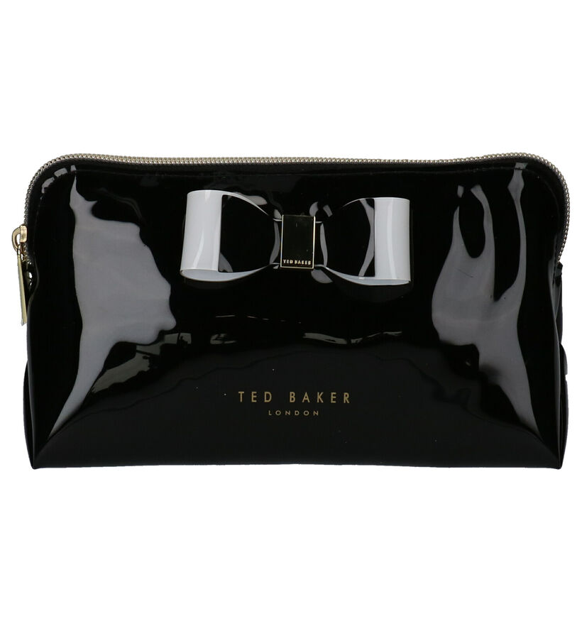Ted Baker Zwart Make-up Tasje in lakleer (257684)