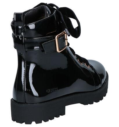 Guess Jade Zwarte Boots in kunstleer (256667)