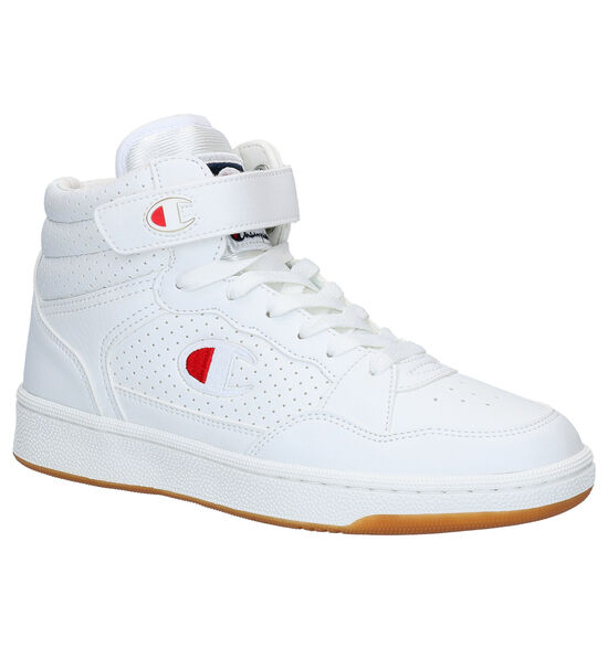 Champion Palm Lake Mid Witte Sneakers