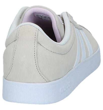 adidas VL Court 2.0 Baskets en Noir en daim (252577)