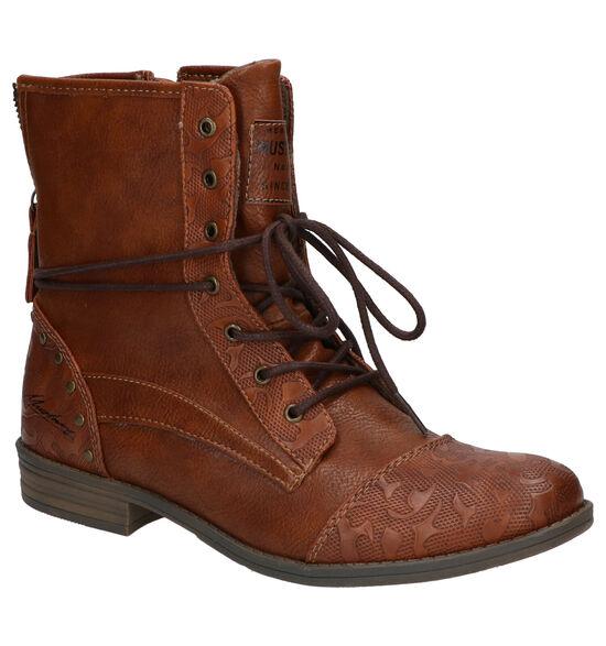 Mustang Bruine Boots